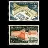Serie Sellos de Francia N ° 1177/1178 nuevos sin charnela