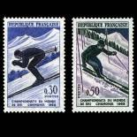 Stamps series of France N° 1326/1327 Mint NH