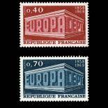 Timbres France Série N° 1598/99 neuf sans charnière