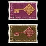 Serie francobolli di Francia N ° 1556/57 Nuevo non linguellato