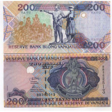 Vanuatu - Pk N° 8 - Billet de 200 Vatu