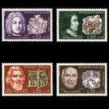 Stamps series of France N° 1550/53 Mint NH