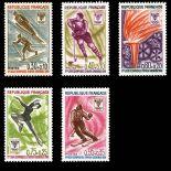 Timbres France Série N° 1543/47 neuf sans charnière