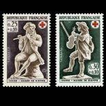 Timbres France Série N° 1540/41 neuf sans charnière