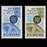 Timbres France Série N° 1521/22 neuf sans charnière