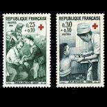 Timbres France Série N° 1508/09 neuf sans charnière
