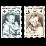 Stamps series of France N° 1466/67 Mint NH
