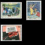 Timbres France Série N° 1457/1459 neuf sans charnière