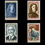Briefmarken Reihe von France N ° 1442/45 Postfrisch