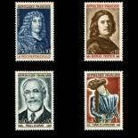 Timbres France Série N° 1442/45 neuf sans charnière