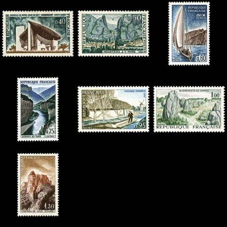 Timbres France Série N° 1435/41 neuf sans charnière