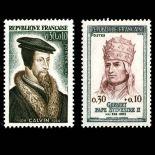 Timbres France Série N° 1420/1421 neuf sans charnière