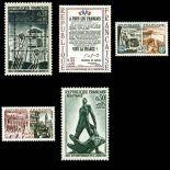 Timbres France Série N° 1407/11 neuf sans charnière