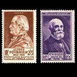 Briefmarken Reihe von France N ° 748/749 Postfrisch