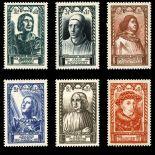 Briefmarken Reihe von France N ° 765/70 Postfrisch