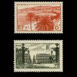 Briefmarken Reihe von France N ° 777/778 Postfrisch