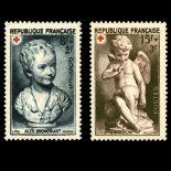 Timbres France Série N° 876/877 neuf sans charnière
