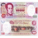 Billets de banque VENEZUELA Pk N° 76 - 1000 Bolivares