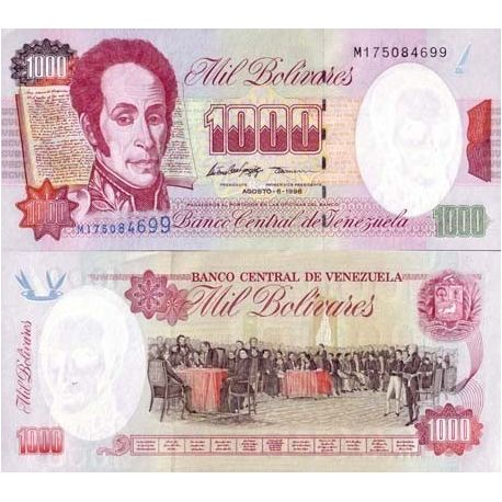 VENEZUELA - Pk N° 76 - Billet de 1000 Bolivares
