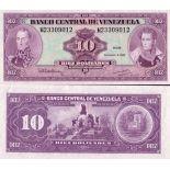 Colección de billetes Venezuela Pick número 61 - 10 Bolivar