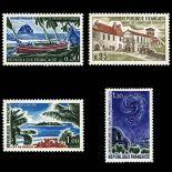 Serie francobolli di Francia N ° 1644/47 Nuevo non linguellato