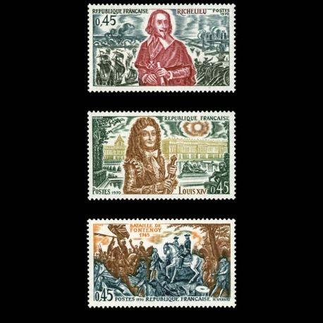 Timbres France Série N° 1655/57 neuf sans charnière