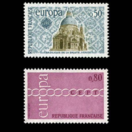 Timbres France Série N° 1676/77 neuf sans charnière