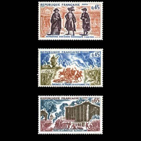 Timbres France Série N° 1678/80 neuf sans charnière