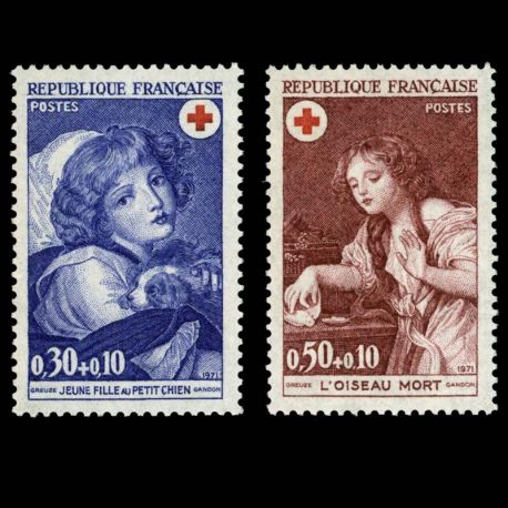 France : N° 1700/01 - Neuf sans charniere **