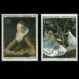 Serie Sellos de Francia N ° 1702/1703 nuevos sin charnela