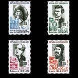 Serie Sellos de Francia N ° 1706-1709 nuevos sin charnela