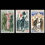Briefmarken Reihe von France N ° 1729/31 Postfrisch