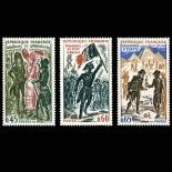 Stamps series of France N° 1729/31 Mint NH