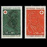 Timbres France Série N° 1735/36 neuf sans charnière