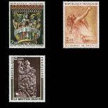 Serie francobolli di Francia N ° 1741/1743 Nuevo non linguellato