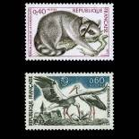 Stamps series of France N° 1754/1755 Mint NH
