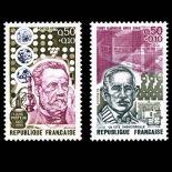 Serie francobolli di Francia N ° 1768/69 Nuevo non linguellato