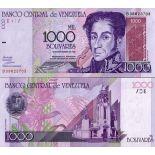 Billet de collection Venezuela Pk N° 79 - 1000 Bolivares