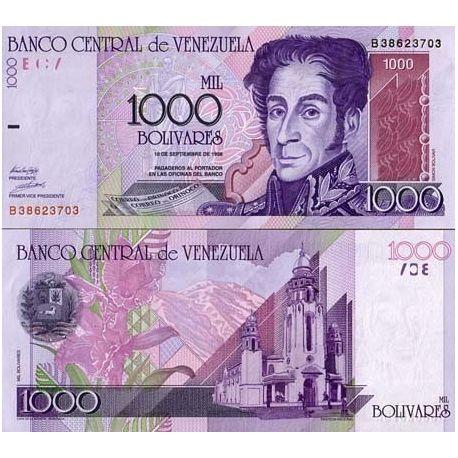 Venezuela - Pk N° 79 - Billet de 1000 Bolivares
