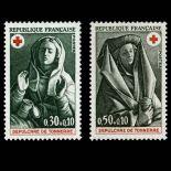Briefmarken Reihe von France N ° 1779/80 Postfrisch