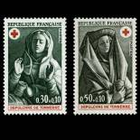 Stamps series of France N° 1779/80 Mint NH