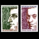 Timbres France Série N° 1784/85 neuf sans charnière