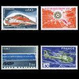 Serie francobolli di Francia N ° 1802-1805 Nuevo non linguellato