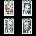 Serie Sellos de Francia N ° 1824/27 nuevos sin charnela