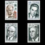 Timbres France Série N° 1824/27 neuf sans charnière