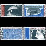 Serie francobolli di Francia N ° 1834/37 Nuevo non linguellato