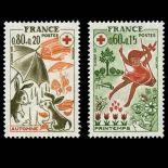 Timbres France Série N° 1860/61 neuf sans charnière