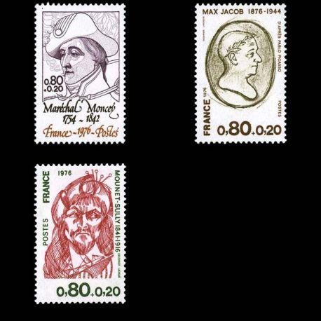 France : N° 1880/82 - Neuf sans charniere **