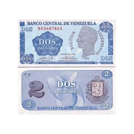 Billets collection Venezuela Pk N° 69 - 2 Bolivares