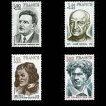Stamps series of France N° 1953/56 Mint NH